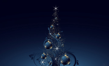 Windows 7 3D Christmas Wallpaper