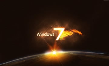 Windows 7 Ultimate Wallpaper 1280x800