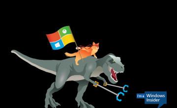 Windows Insider Wallpaper T Rex