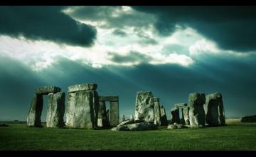 Windows XP Stonehenge Wallpaper