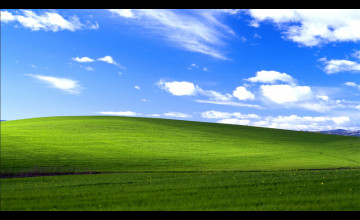 Windows XP Wallpaper 1366x768