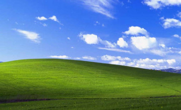 Windows XP Wallpaper Location