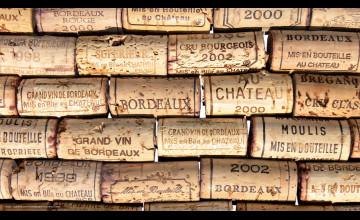 Wine Cork Wallpaper