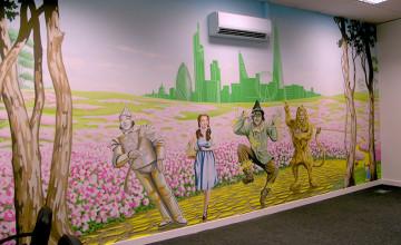 Wizard of Oz Wallpaper Mural