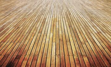 Wood Flooring Wallpaper