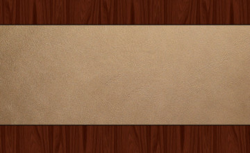 Wood Leather Wallpaper
