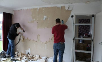 Woodchip Wallpaper Removal