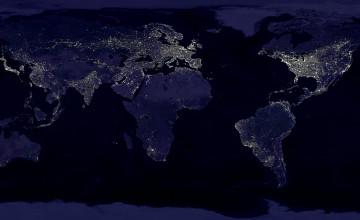 World at Night Wallpaper