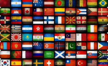 World Flags Wallpaper