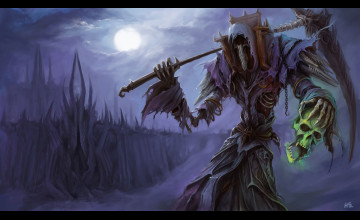 World of Warcraft Warlock Wallpaper