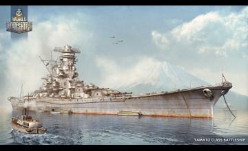 World of Warships Yamato Wallpaper