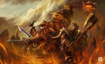 WOW Warrior Wallpaper