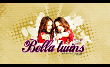 WWE The Bella Twins Wallpaper
