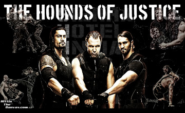 WWE The Shield Wallpaper