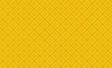 Yellow Pattern Wallpaper