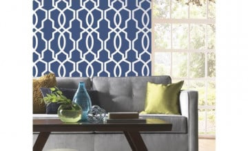 York Ashford Geometric Wallpaper