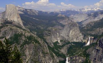 Yosemite Half Dome Wallpaper