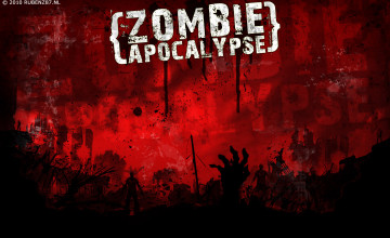 Zombie Apocalypse Wallpaper